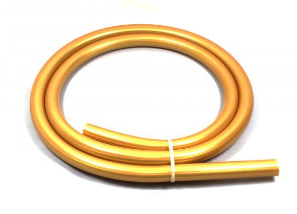 Silikonschlauch Shisha 150cm Gold