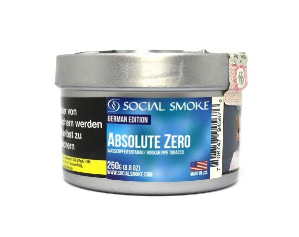 Social Smoke 250g - Absolute Zero