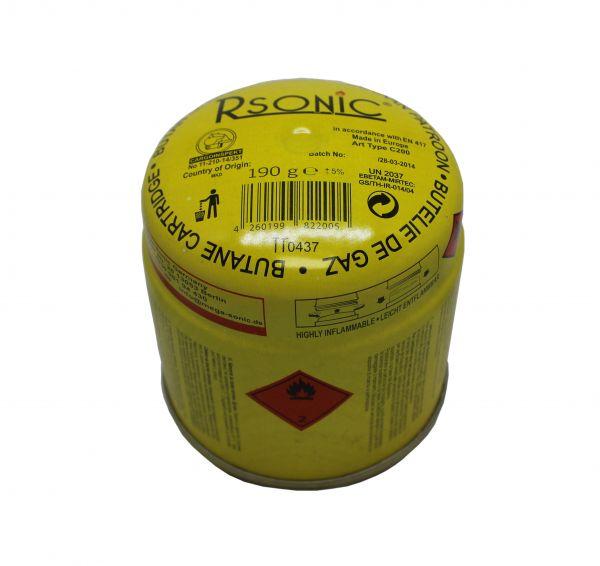 Rsonic Gaskartuschen Butangas 190g