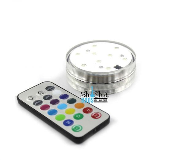 LED Einsatz für Glasshisha