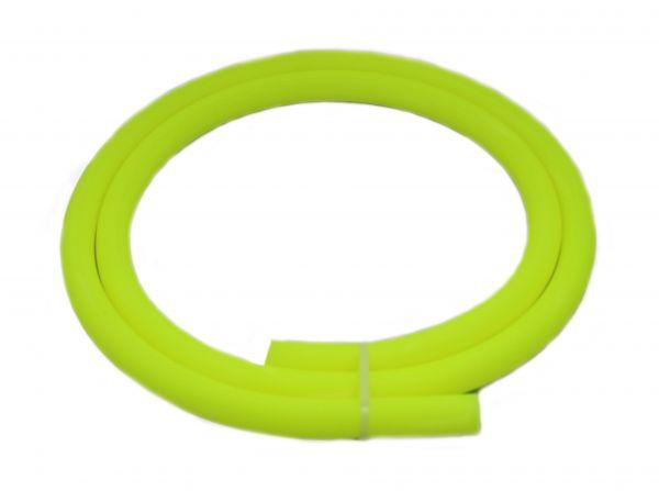 Antistatischer Lebensmittelechter Silikonschlauch matt neon-gelb