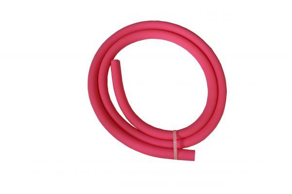 Antistatischer Lebensmittelechter Silikonschlauch matt pink