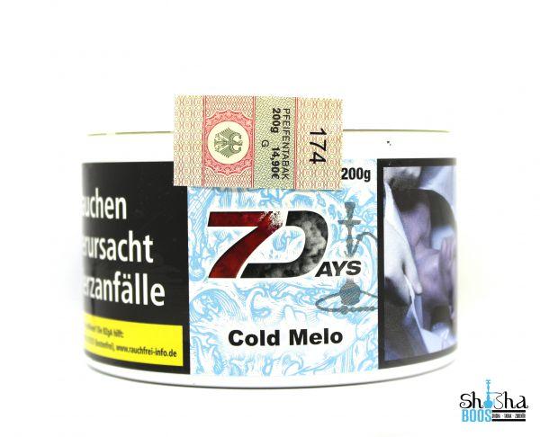 7 Days Tabak 200g - Cold Melo