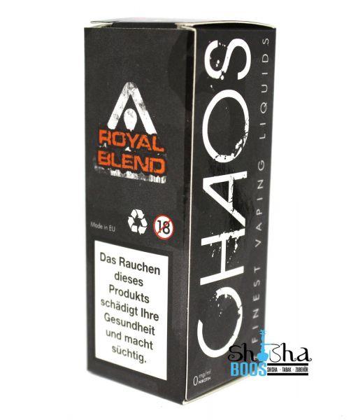 Chaos Finest Vaping Liquids - Royal Blend 10ml