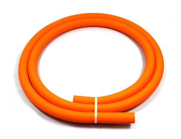 Antistatischer Lebensmittelechter Silikonschlauch matt neon-orange