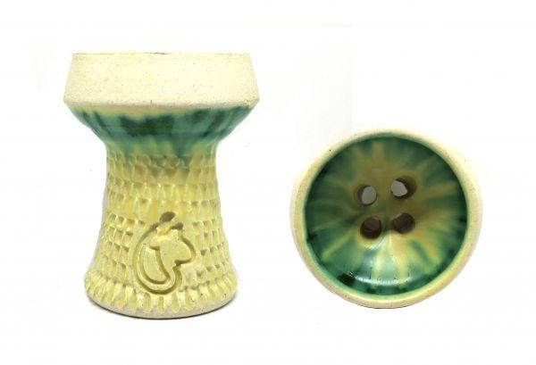 Dschinni Schamottköpfe Nero Verde Seflex