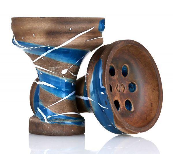 Conceptic Design Killer Blue Shisha Tabakkopf