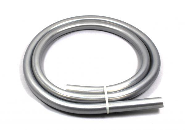 Silikonschlauch Shisha 150cm Silber