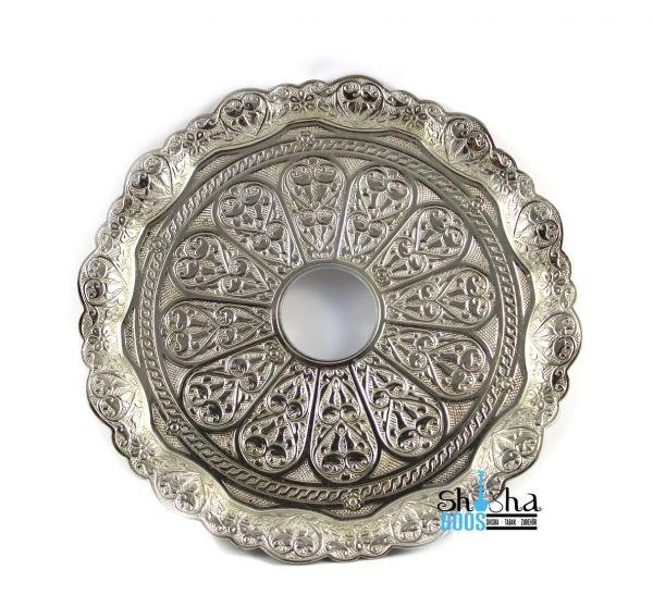 Tebzi Teller Oriental Silber 22cm