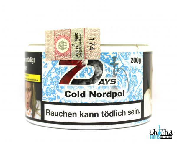 7 Days Tabak 200g - Cold Nordpol