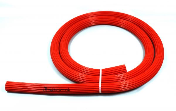 Dschinni Candyhose Silikonschlauch Rot 150cm
