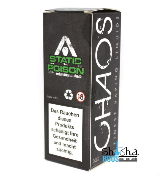 Chaos Finest Vaping Liquids - Static Poison 10ml