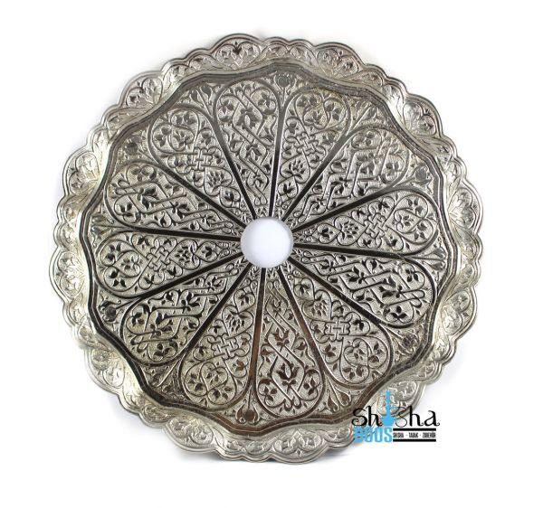 Tebzi Teller Oriental Silber 35cm