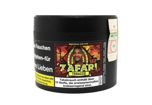 187 Tobacco 200g - #028 Zafari