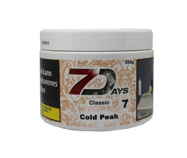 7 Days Tabak 200g - Cold Peah
