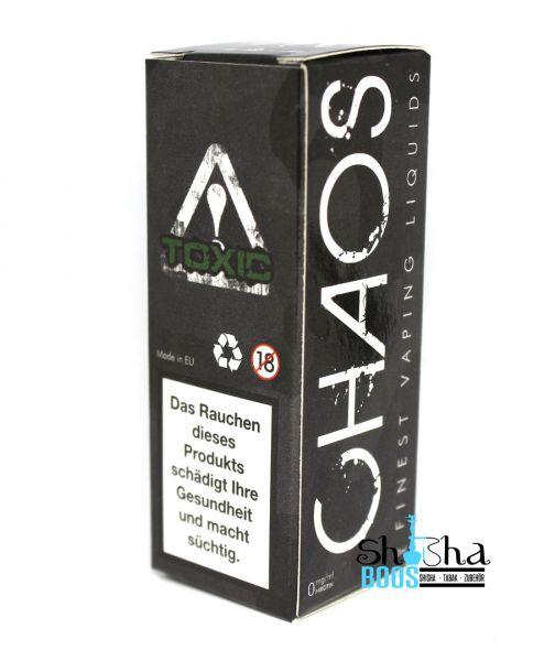 Chaos Finest Vaping Liquids - Toxic 10ml
