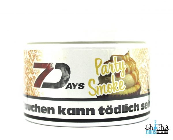 7 Days Tabak 200g - Party Smoke
