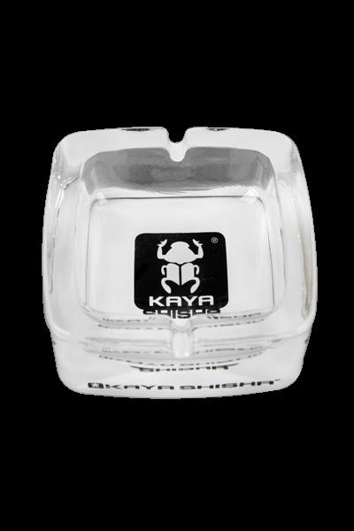 Kaya Aschenbecher ( Glas mit Logo)