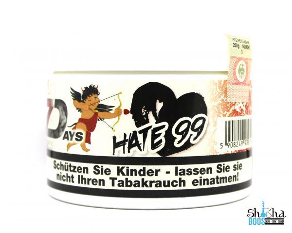 7 Days Tabak 200g - Hate 99