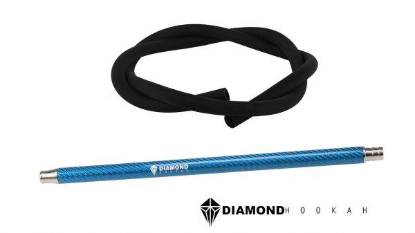 Diamond Hookah Carbon Set Türkis