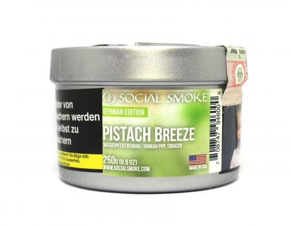 Social Smoke 250g - Pistach Breeze