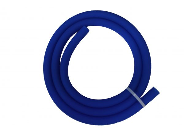 Antistatischer Lebensmittelechter Silikonschlauch matt blau