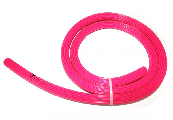 Dschinni Candyhose Silikonschlauch Baby Pink 150cm