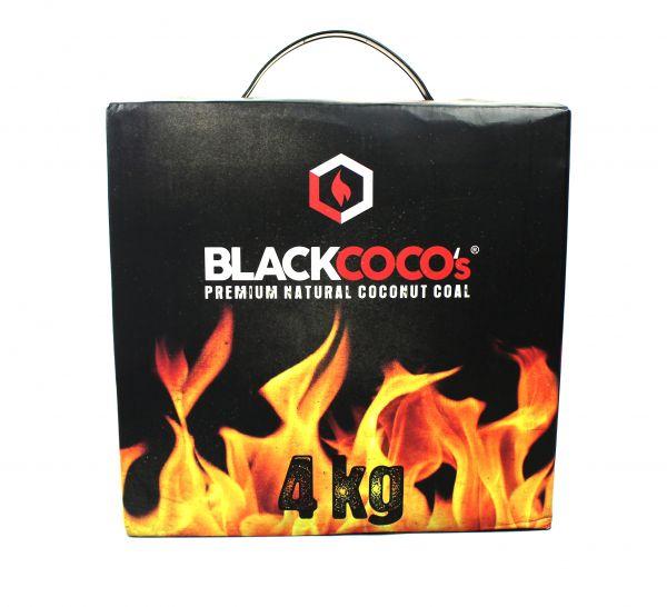 Black Coco's Premium Kokosnuss Naturkohle 4kg