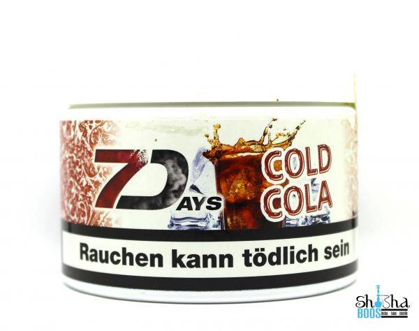 7 Days Tabak 200g - Cold Cola