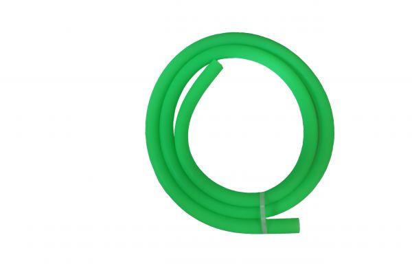 Antistatischer Lebensmittelechter Silikonschlauch matt neon-grün