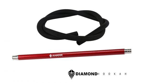 Diamond Hookah Carbon Set Rot