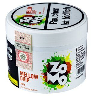 Zomo Tobacco 200g - Mellow Drip